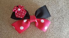 PRE ORDER Hand made Disney pink Minnie by OnceUponABowtiqueUK