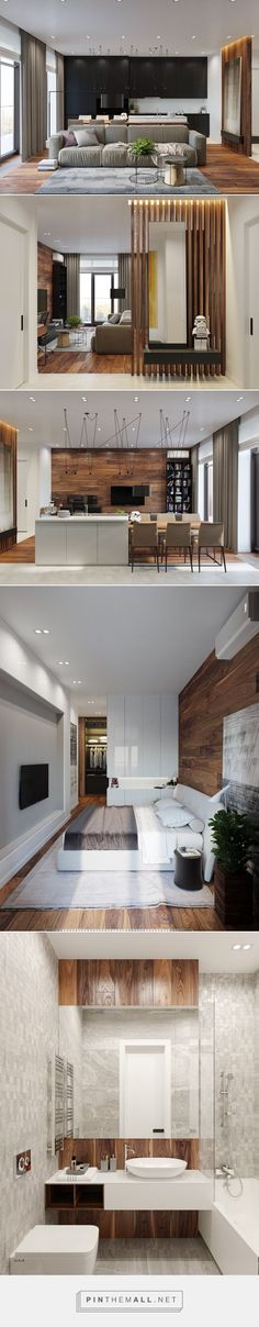 modern apartment - interior design inspiration