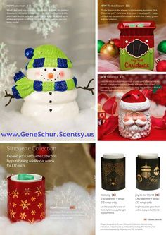 holiday warmers  https://scentfullysinfull.scentsy.us