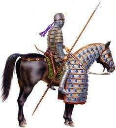 """0200 - 0299 """"Sassanid cataphract, third century"""""""