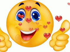 The perfect Smiley ThumbsUp Heart Animated GIF for your conversation. Discover and Share the best GIFs on Tenor. Kiss Animated Gif, Animated Smiley Faces, Funny Emoji Faces, Animated Emoticons, Funny Emoticons, Thumbs Up Smiley, Love Smiley, Emoji Love, Images Emoji