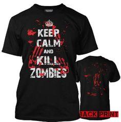 21 'Keep Calm' shirts