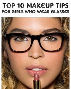 BLUSHO blog: Top 10 Makeup Tips For Girls Who Wear Glasses