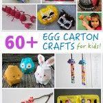 60+ Egg Carton Crafts