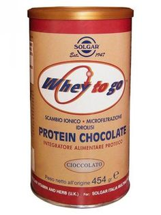 #Solgar protein chocolate  ad Euro 49.20 in #Solgar #Integratori