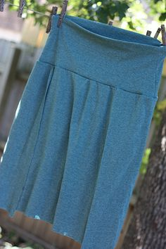 """When I was planning my VBAC with Soren, I went back and forth on whether to buy a Binsi """"birthing skirt,"""" a skirt which is ideal for giving ..."""