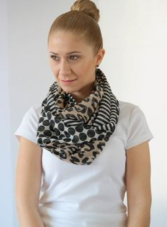 MOTHER'S DAY GİFTS Infinity scarf spring by ChamomileAccessories