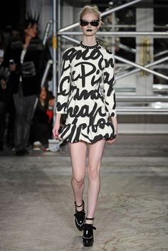 Fall Runway Trend: Cuffing It (Moschino Cheap & Chic RTW Fall 2013)