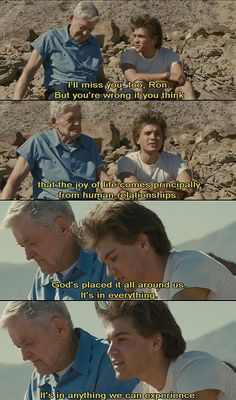 """#quotes """"God´s  placed it all around as it´s in everything"""" #intothewild"""