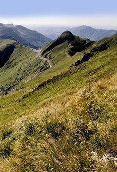 Puy de Dôme, Auvergne - some of the best hiking in the world! Rafting, Places To Travel, Places To Visit, Best Vacation Destinations, Clermont Ferrand, Visit France, Adventure Is Out There, France Travel, Places Around The World