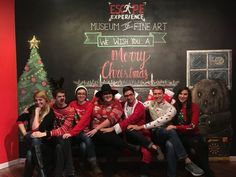 Nothing better than a good awkward family photo. Merry Christmas from the Escape Experience family.