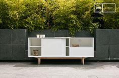 Un mueble nórdico que realmente recuerda a los muebles escandinavos de los años 50.