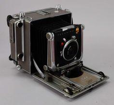 Studio-Kamera, 'Linhof Technika, D.T.P., West Germany, A.P.a., No. 63919', mit Objektiv &# — Varia