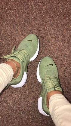 shoes nike shoes nike air nike presto olive green sneakers tennis shoes green ru You are in the right place about Women Shoes and boots Here we offer you the most beautiful pictures about the Cute Shoes, Women's Shoes, Me Too Shoes, Shoe Boots, Shoes Sneakers, Gucci Shoes, Shoes Style, Casual Shoes, Tennis Shoes Outfit