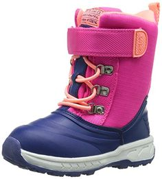 carter's Lunar G Winter Outdoor Boot (Toddler/Little Kid), Navy/Pink, 5 M US Toddler - Brought to you by Avarsha.com