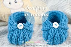 Baby Booties Knitting Pattern, Baby Shoes Pattern, Crochet Baby Shoes, Newborn Crochet, Crochet Baby Booties, Baby Knitting Patterns, Knitting For Kids, Sewing For Kids, Baby Bootees