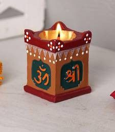 Arti Thali Decoration, Diya Decoration Ideas, Diy Diwali Decorations, Festival Decorations, Diwali Diya, Diwali Craft, Paper Crafts For Kids, Hobbies And Crafts, Temple Design For Home
