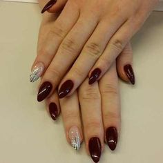 pointed nail art designs and ideas 2017 - style you 7