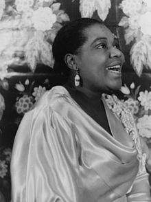 Bessie Smith (April 15, 1894 – September 26, 1937) was an American blues singer.  Nicknamed The Empress of the Blues, Smith was the most popular female blues singer of the 1920s and 1930s.[1] She is often regarded as one of the greatest singers of her era and, along with Louis Armstrong, a major influence on subsequent jazz vocalists.wem