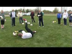 Soccer Goalkeeper Dive Training Part 2