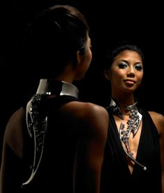 Reena Ahluwalia   Ehereal Rhapsody Pearl Necklace