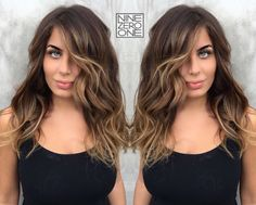 Beach waves and Balayage. By #901artist @hairbytabitha!