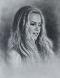 Realistic Portrait Drawing Eliza Taylor Drawing Portrait by Dry Brush - Eliza Taylor, The 100 Show, The 100 Cast, Bellarke, Black And White Drawing, Black And White Portraits, The 100 Serie, Lexa Y Clarke, The 100 Clexa