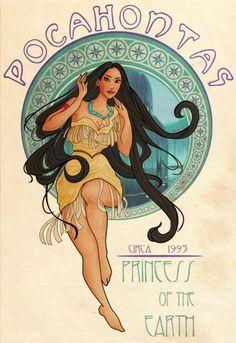 Art Nouveau Disney Princesses | Disney Princess Art Nouveau - Imgur