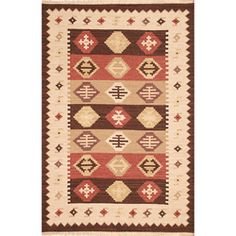 Hand-woven Vanilla Wool Rug (8' x 10') | Overstock.com Shopping - Great Deals on 7x9 - 10x14 Rugs