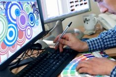 Find detailed information about graphic design schools and careers, including career education and training, plus employment statistics. Online Graphic Design, Graphic Designers, Web Design, Print Design, Design Ideas, Importance Of Time Management, Sign Company, Education And Training, Education Requirements