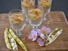 Verrine de crème de haricots Tarbais, Un délicieux petit dessert automnal, à présenter en verrine... Succès assuré !