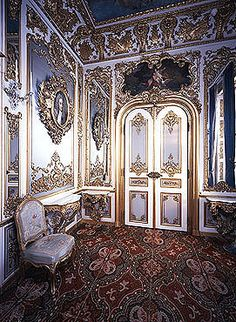 Linderhof Castle ~ Oberammergau ~ Bavaria ~ Germany ~ The Lilac Cabinet