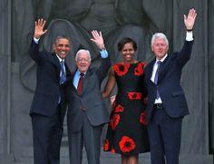 Michelle Obama - Washington, DC Marks 50 Years Since MLK's 'Dream' Speach
