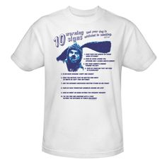Wilfred: Warning Signs Your Dog Is Addicted To Smoking T-Shirt  $26.95