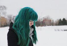 Teal Green Hair Dye