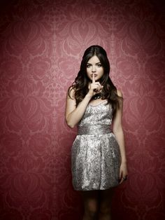Pretty Little Liars Lucy Hale as Aria Montgomery.