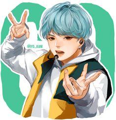 BTS GO Suga by Iyokani