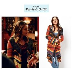 """Bree Turner as Rosalee in Grimm - """"The Waking Dead"""" (Ep. 221). Free People """"Lima"""" Cardigan"""