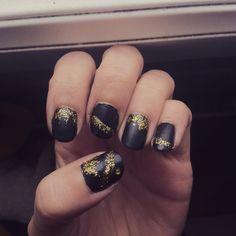 Mon Nail Art pour le Nouvel An :)