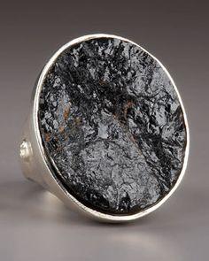 Dominique Cohen Black Tourmaline Ring $450.00