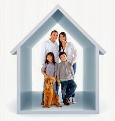 Happy Family - Clean Home - Air Quality
