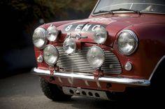 Austin Mini Cooper S Rally - headlamps [1964]