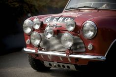 Austin Mini Cooper S Rally - headlamps [1964]