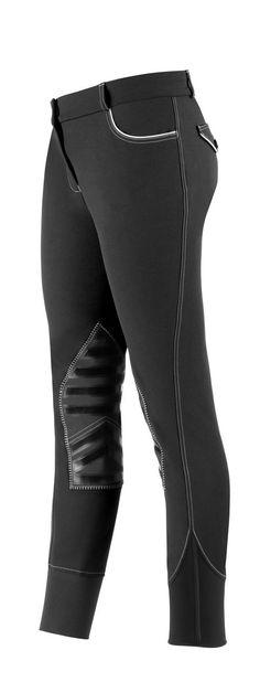 English Tack Store - USG Lara Ladies Silicone Knee Patch Breeches, $199.95 (http://www.englishtackshop.com/usg-lara-ladies-silicone-knee-patch-breeches/)