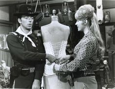Melody Patterson & Ken Berry, F-Troop