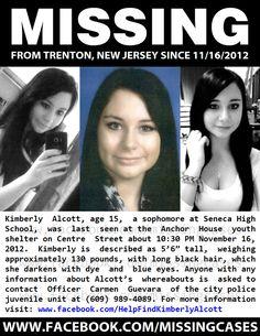 Kimberly Alcott, 15, Trenton, NJ