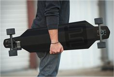 MARBEL ELECTRIC SKATEBOARD. Carbon fiber electric skateboard with top speed of 20 mph