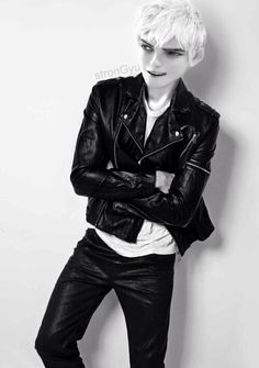Jack Frost in leather! Better lock your doors jack fangirls are coming for you