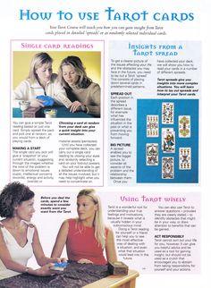 Divination:  #Tarot: How to Use Tarot Cards.