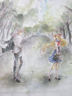 Sailor Venus and Kunzite / We will meet again, in another life